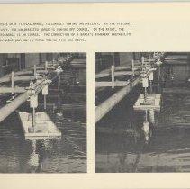 Image of pg 75 barge model in tank