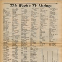 Image of pg 11 television listings