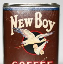 Image of Can: New Boy Coffee. 1 lb. American Grocery Co., Hoboken, N.J., n.d., ca. 1925-1935. - Can