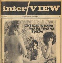 Image of front cover; right half, photo: Rado, Viva, Varda, Ragni