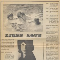 Image of pg [14] Lions Love interview with Agnes Varda