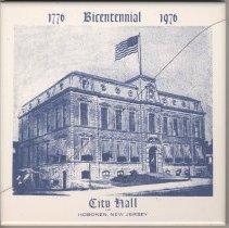 Image of Tile: City Hall, Hoboken, New Jersey