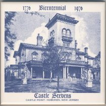 Image of Tile: Castle Stevens, Castle Point, Hoboken, New Jersey