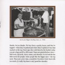 Image of pg 9 photo Joe Biggie shucking clams ca. 1960