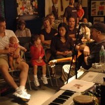 Image of Digital images, 4, of music program by Julio Fernandez, HHM, Hoboken, Sept. 22, 2007. - Print, Photographic