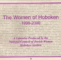 Image of Wall calendar: The Women of Hoboken, 1999-2000. - Calendar