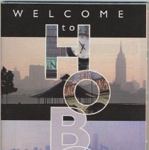 Image of Welcome to Hoboken. A Business Map of Hoboken. Published by the Hoboken Reporter, copyright 2000. - Map