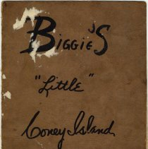 Image of front cover; back blank