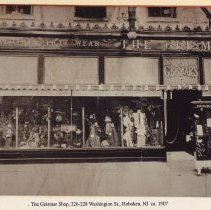 Image of Photo of The Geismar Shop, 226-228 Washington Street, Hoboken, circa 1907. - Print, Photographic