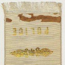 Image of detail back, unfolded