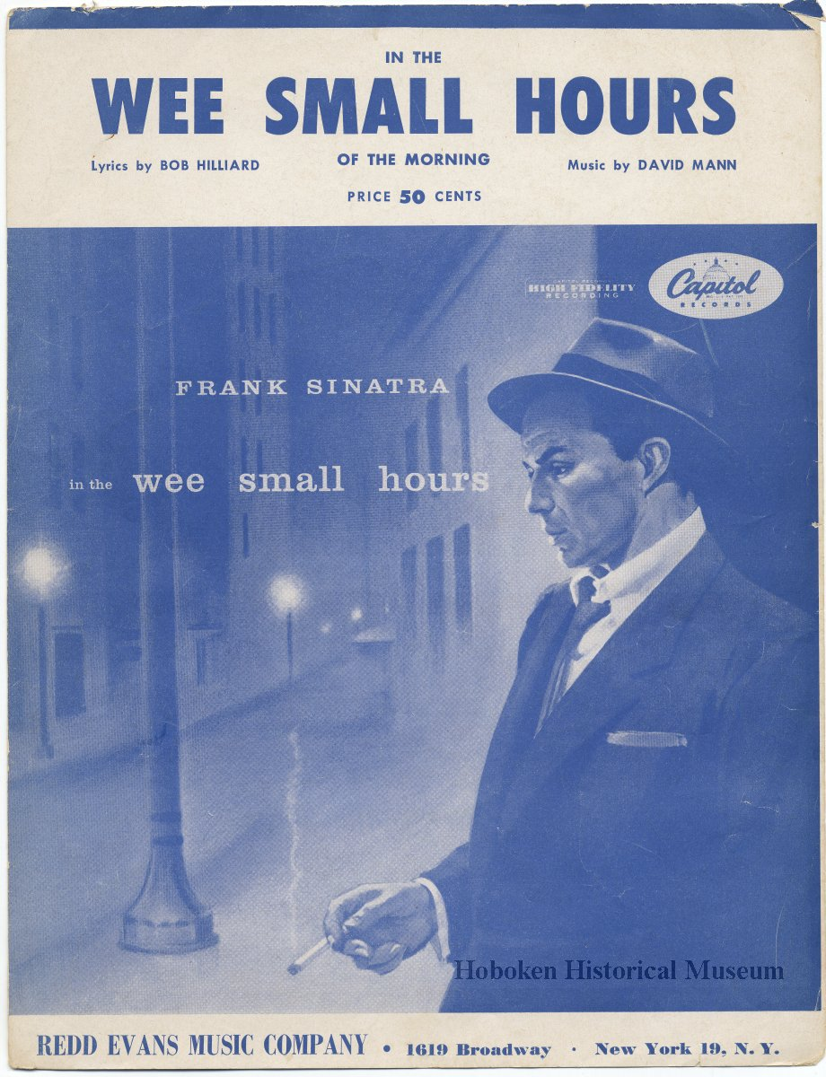 Frank Sinatra in the Wee Small Hours Poster