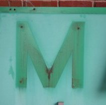 Image of detail letter placement