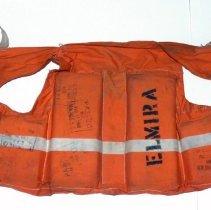 "Image of Life preserver from ferry boat ""Elmira""; last run 11/22/1967. - Life preserver"