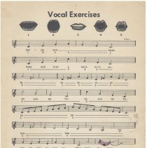 Image of enclosure vocal exercises