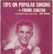 Image of Tips on Popular Singing. By Frank Sinatra. 1941. - Music, Sheet