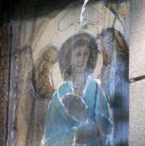 Image of 19: close-up detail of stained glass window in images 17 and 18
