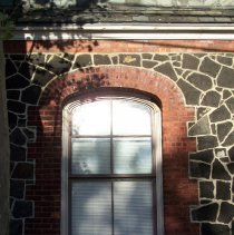 Image of 47: detail of typical window in parish house