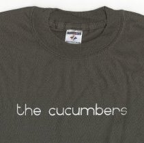 Image of T-Shirt: The Cucumbers. No date, circa 2000-2004. - T-shirt