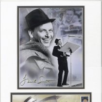 Image of Postal cachet: Frank Sinatra. First Day of Issue, May 13, 2008. - Cachet, Postal