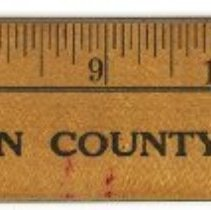 Image of ruler side 1 with inch measurements