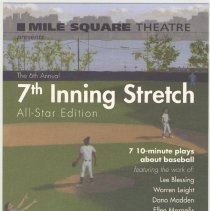Image of Postcard: 6th Annual 7th Inning Stretch. Mile Square Theatre, (2008.) - Postcard