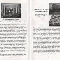 Image of pp 6-7: 921 Castle Point Terrace; 600 Hudson St.
