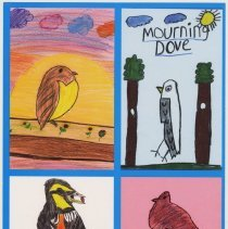 """Image of Postcard: """"Come Fly with Me: Urban Birds of Hoboken."""" HHM, Oct. 19 to Nov. 9, 2008. - Postcard"""