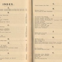 Image of index pages [1 + 2]