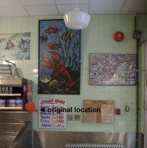 Image of original location in store, Jan. 2006 photo
