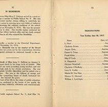 Image of pp 52-53 in memoriam; resignations