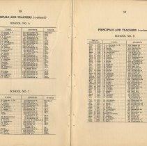 Image of pp 58-59 principals & teachers - school no. 6, no.7, no. 8