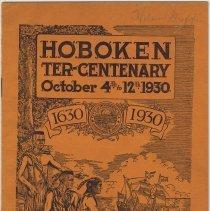 Image of Hoboken Ter-Centenary, October 4th to 12th, 1930. 1630-1930. Official Program. - Program