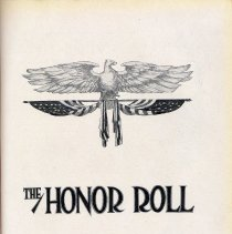 Image of pg [29] The Honor Roll