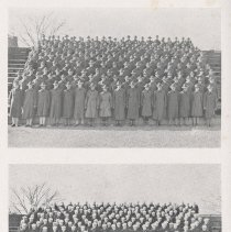 Image of pg 34 photos: Army group, Navy group