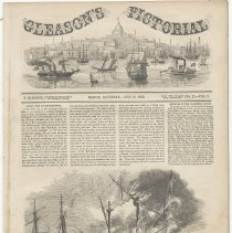 Image of pg [385] Gleason's Pictorial Vol. 2, No. 25, cover