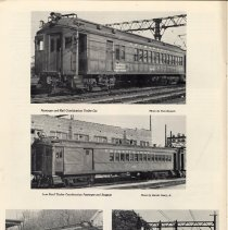 Image of pg 10: 4 photos train car or coach