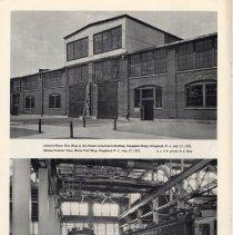 Image of pg 12: 2 photos Motorized Unit Shop, Kingsland, N.J.