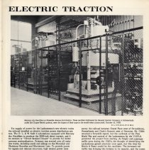 Image of pg 19: Electric Traction [electrical equipment and controls]