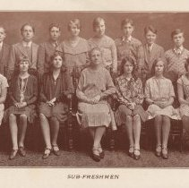 Image of pg [30]: photo sub-freshmen, Class of 1933