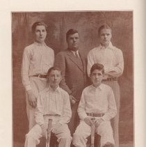 Image of pg 42: photo tennis team