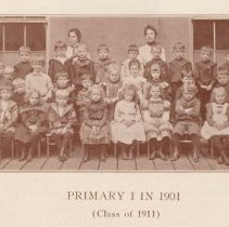 Image of detail pg 46 of photo of Primary I in 1901