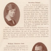 Image of pg 16: Class of 1929: Dorothea Deimel; William Theodore Oest