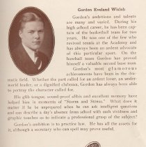 Image of pg 17: Class of 1929: Gordon Eveland Wisloh