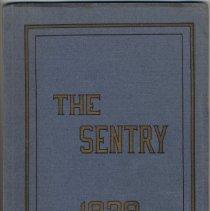 Image of The Sentry, 1929. Hoboken Academy Yearbook. - Yearbook