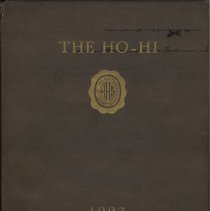 Image of Ho-Hi of 1923. Yearbook of the February Class of Hoboken High School. - Yearbook
