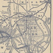 Image of detail pg [9] route map New York & Hoboken