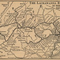 Image of pg [32] back cover map: The Lackawanna Railroad in the State of New Jersey