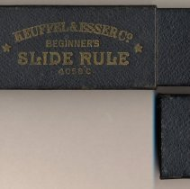 Image of two piece paper covered storage slipcase