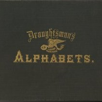 Image of Draughtsman's Alphabets. A Series of Plain & Ornamental Alphabets... K&E. - Book