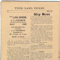 Image of pg 18 masthead; Ships News